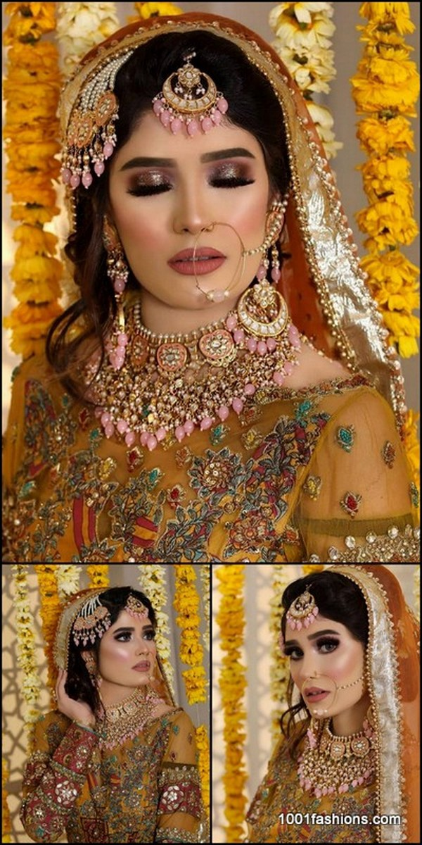 Latest Bridal Makeup Styles In Pakistan 2020