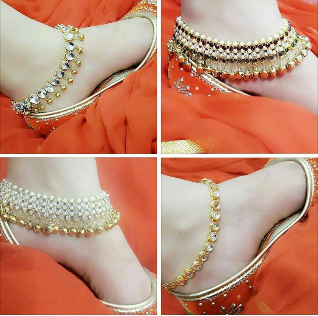 Amazing Foot Payal Design 2020-21 For Girls Looking