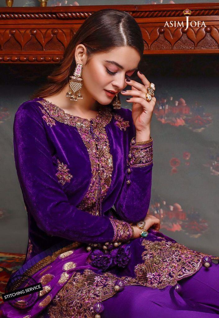 Latest Asim Jofa Velvet Collection 2020 For Pakistani WomenLatest Asim Jofa Velvet Collection 2020 For Pakistani Women