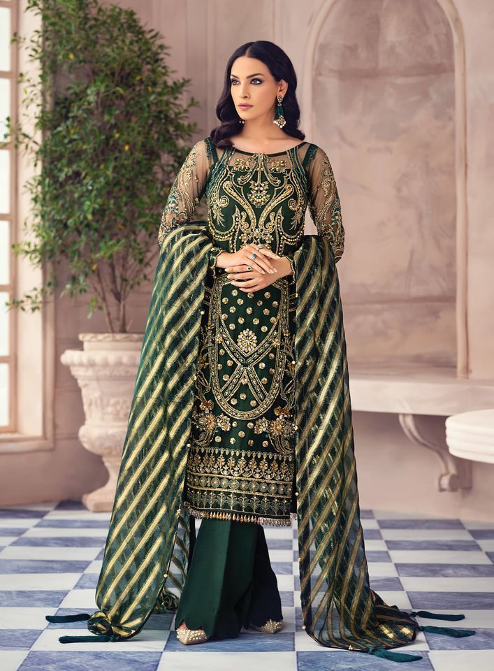 Latest Gulaal Winter Embroidery & Velvet Suits Collection 2020-21