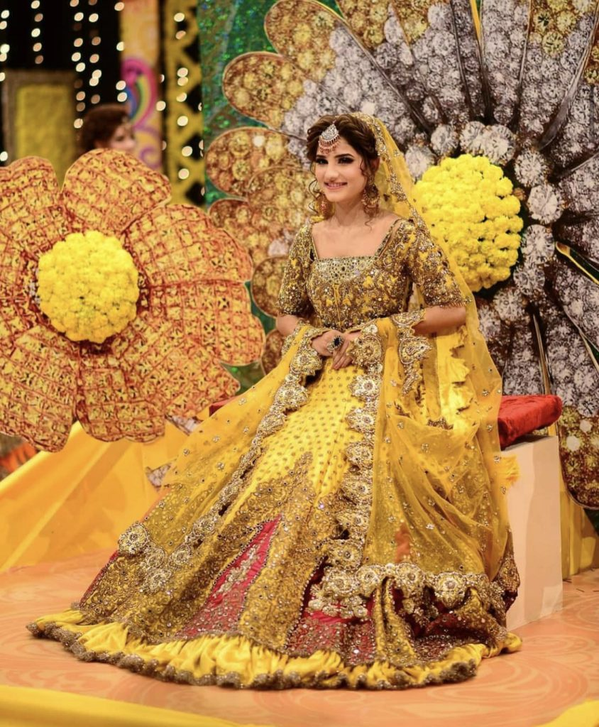 Best Bridal Dresses By Kashees 2021 For Mayun & Mehndi Dress