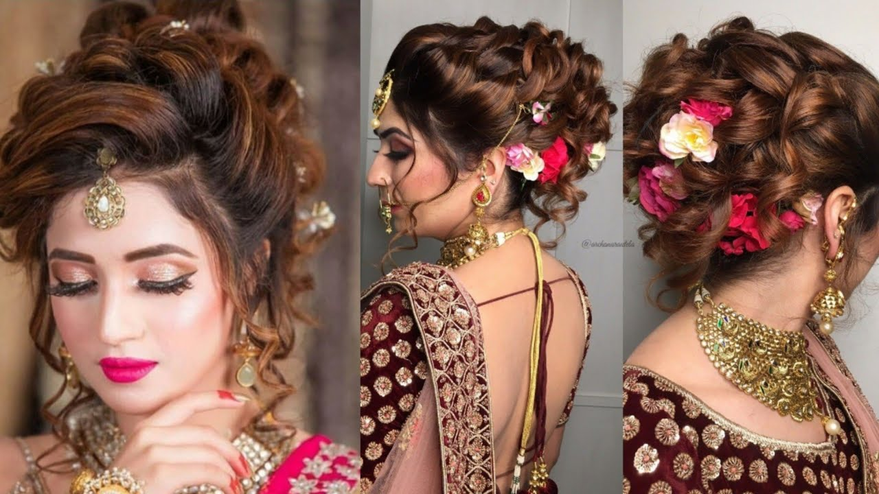 Latest Gorgeous Bridal Hairstyles For 2021 Brides Looks