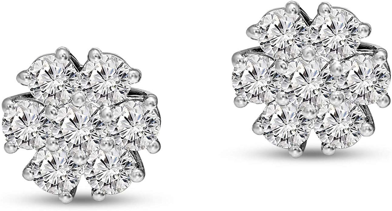 Most Charming Diamond Stud Earrings Collection 2020-21