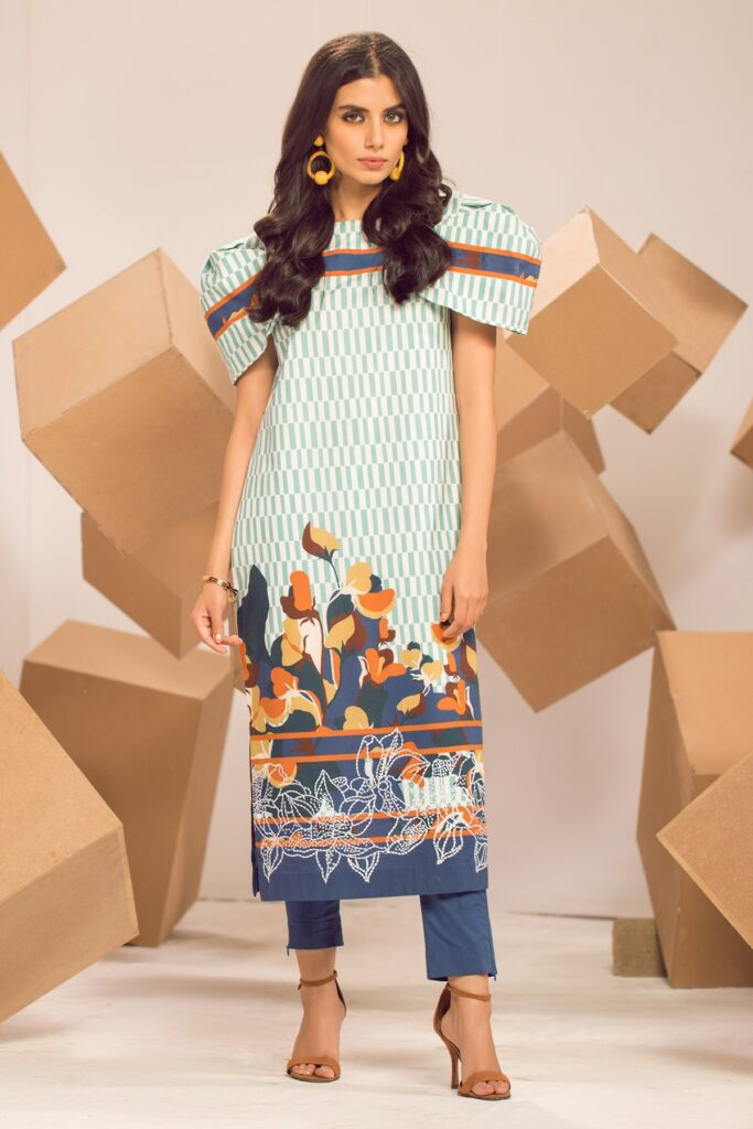 New Arrivals Of Dress Collections 2021 Stylish Outfit From Alkaram