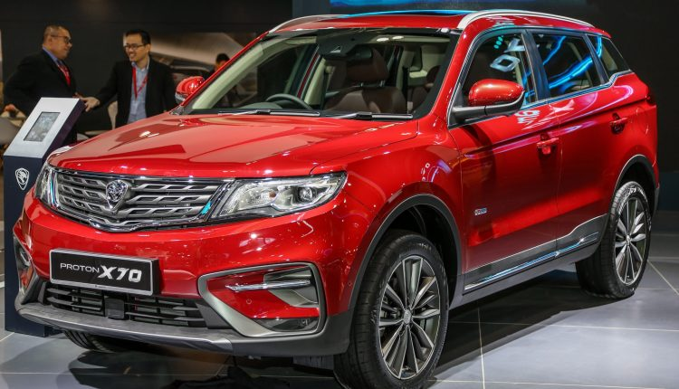 Beautifull Imported Proton X70 New Models Of Cars 2021