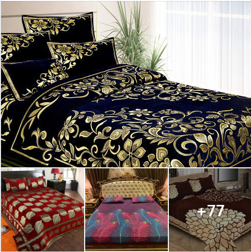 Excellent quality of branded Bedsheets Designs 2021