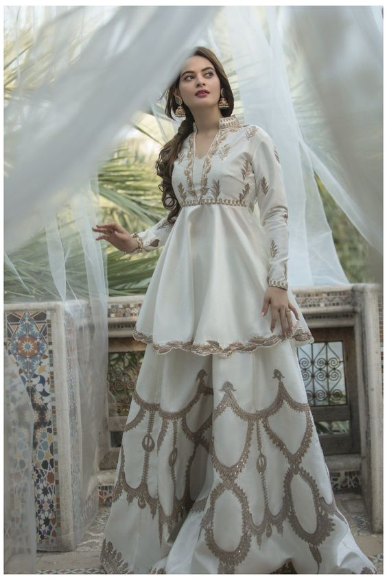 Latest Gorgeous Sharara Suit Trends 2021 Best 80s Fashions