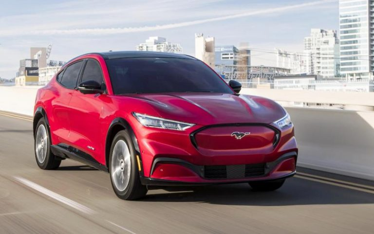 Car To Buy 2021-Best Ford Mustang Mach-E Electric SUV