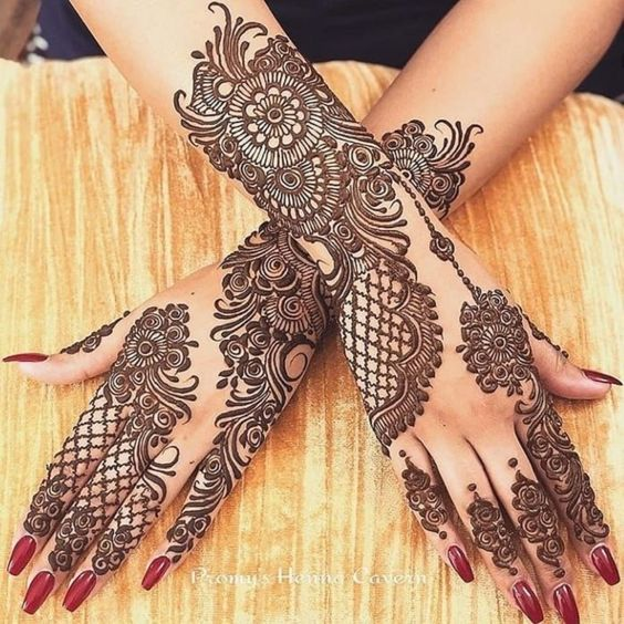 Exclusive Mehndi Designs for Eid Ul Fitr 2021 For Girls