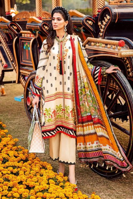 Womens Fashions-GulAhmed Luxury Summer Lawn Collection 2021