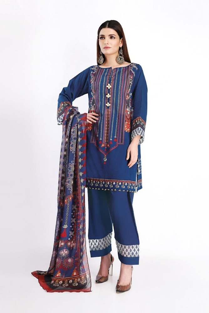 Khaadi Luxury Lawn Collection All Designs With Discount