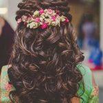 Latest Stylish Short Bridal Wedding hairstyle Fashion