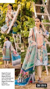 Online Shop-Gul Ahmed Cambric Pre Fall Collection 2021