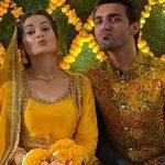 Best Minal Khan Mayun Party-Pakistani Celebrities