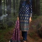Gul Ahmed Winter Unstitched Khaddar Suits For Ladies 2022