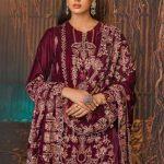 Latest Gul Ahmed Winter Velvet Dresses Collection 2022