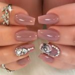 Amazing Glitter Nails Art Girls Collection Looking 2020