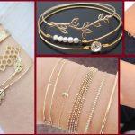 New Barand Gold Bracelets Designe For Girls 2020
