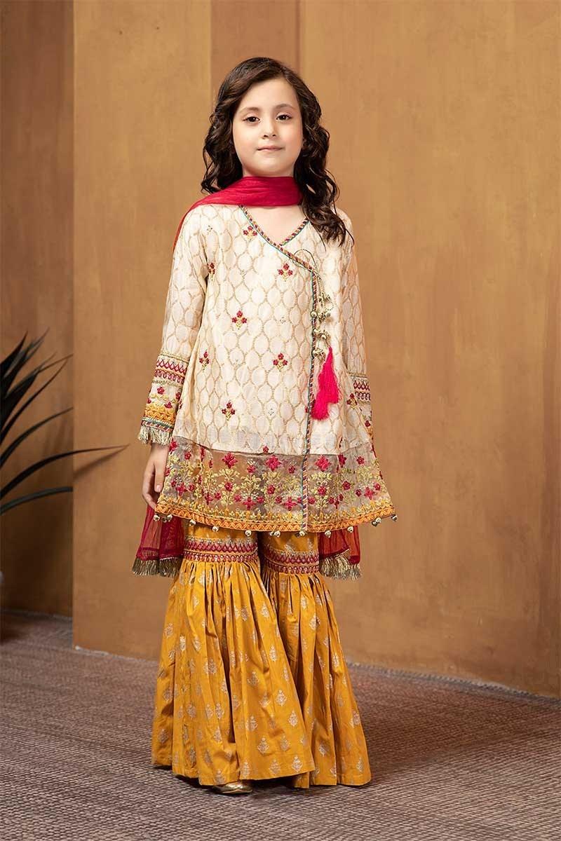 Nice Looking Kids winter Dresses by Designer Maria B 2020