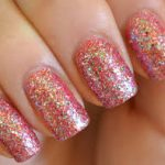 Awesom Glitter Nail art Designs Fashion For Looking Girls