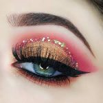 Beautifull Shimmery Eye Makeup Ideas for Special Occasions