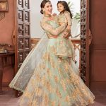 Beautifull Matching Lehenga Choli For Mother And Daughter Collection 2020-2021