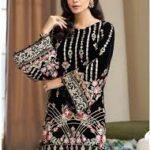 Latest Gulaal Winter Velvet Dresses Collection 2020-21 Online Shop